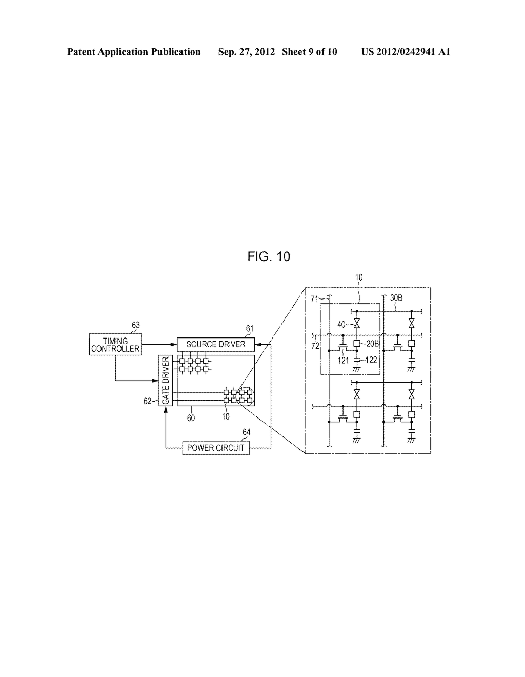 LIQUID CRYSTAL DISPLAY DEVICE AND METHOD FOR MANUFACTURING THE SAME - diagram, schematic, and image 10