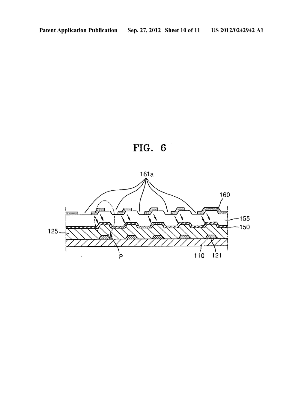 Fringe field switching mode liquid crystal display apparatus and method of     manufacturing the same - diagram, schematic, and image 11