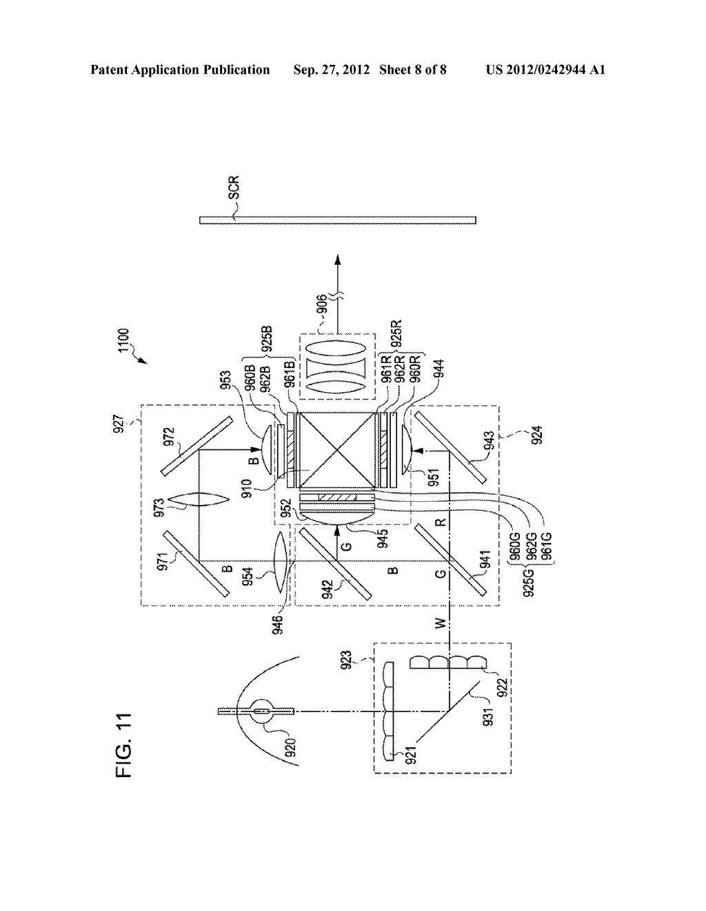 LIQUID CRYSTAL DEVICE AND ELECTRONIC APPARATUS - diagram, schematic, and image 09