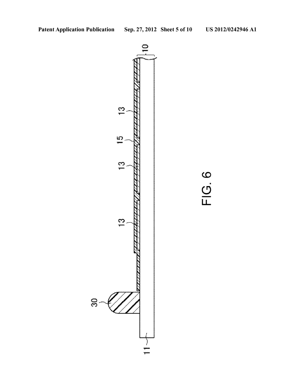 LIQUID CRYSTAL DISPLAY DEVICE AND METHOD FOR MANUFACTURING SAME - diagram, schematic, and image 06
