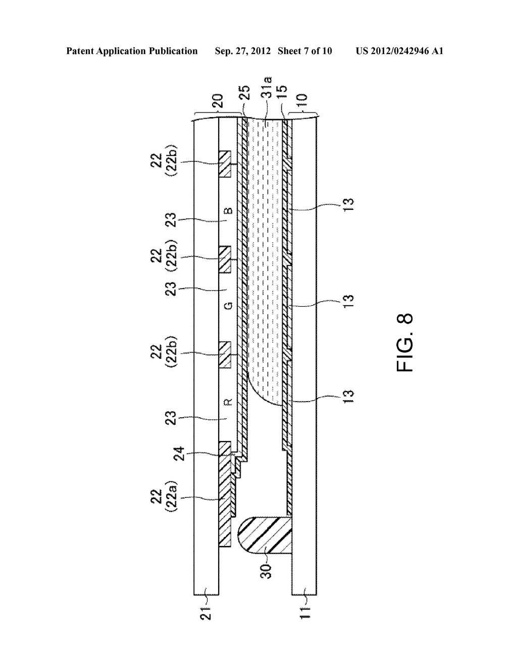 LIQUID CRYSTAL DISPLAY DEVICE AND METHOD FOR MANUFACTURING SAME - diagram, schematic, and image 08