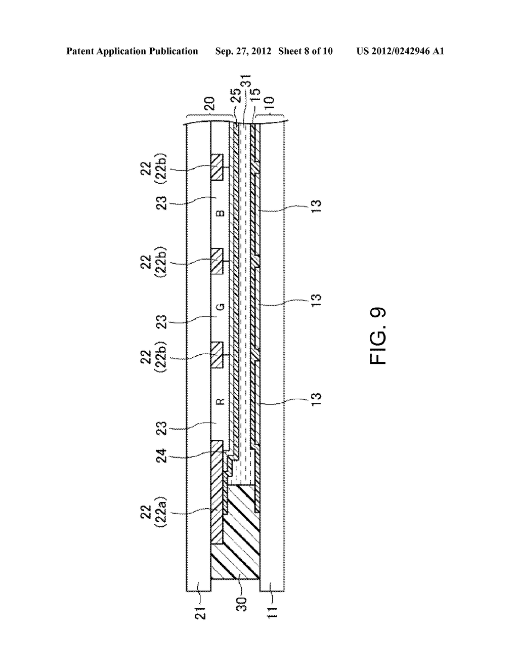 LIQUID CRYSTAL DISPLAY DEVICE AND METHOD FOR MANUFACTURING SAME - diagram, schematic, and image 09