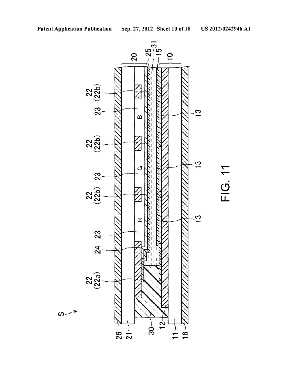 LIQUID CRYSTAL DISPLAY DEVICE AND METHOD FOR MANUFACTURING SAME - diagram, schematic, and image 11