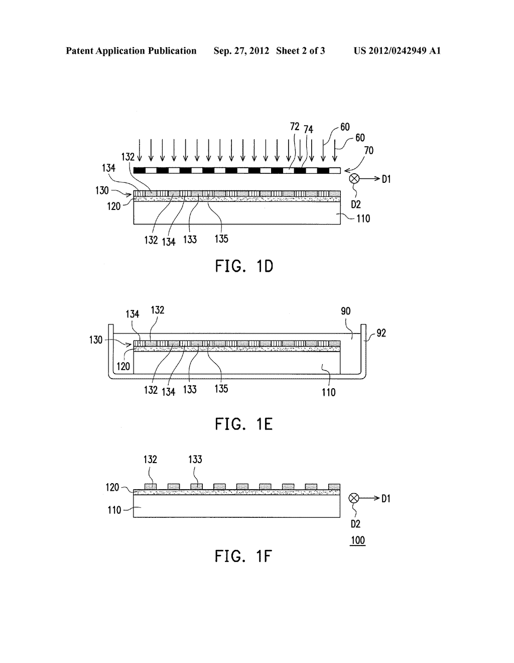 MANUFACTURING METHODS OF PHASE RETARDATION FILM AND STEREOSCOPIC DISPLAY     DEVICE, AND PHASE RETARDATION FILM - diagram, schematic, and image 03