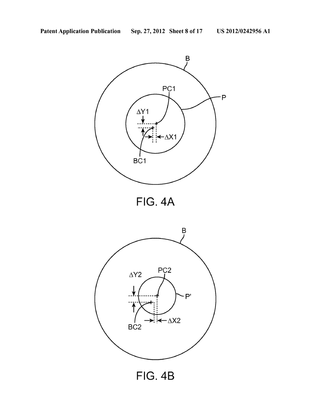 System and Methods for Mitigating Changes in Pupil Size During Laser     Refractive Surgery to Maintain Ablation Centration - diagram, schematic, and image 09