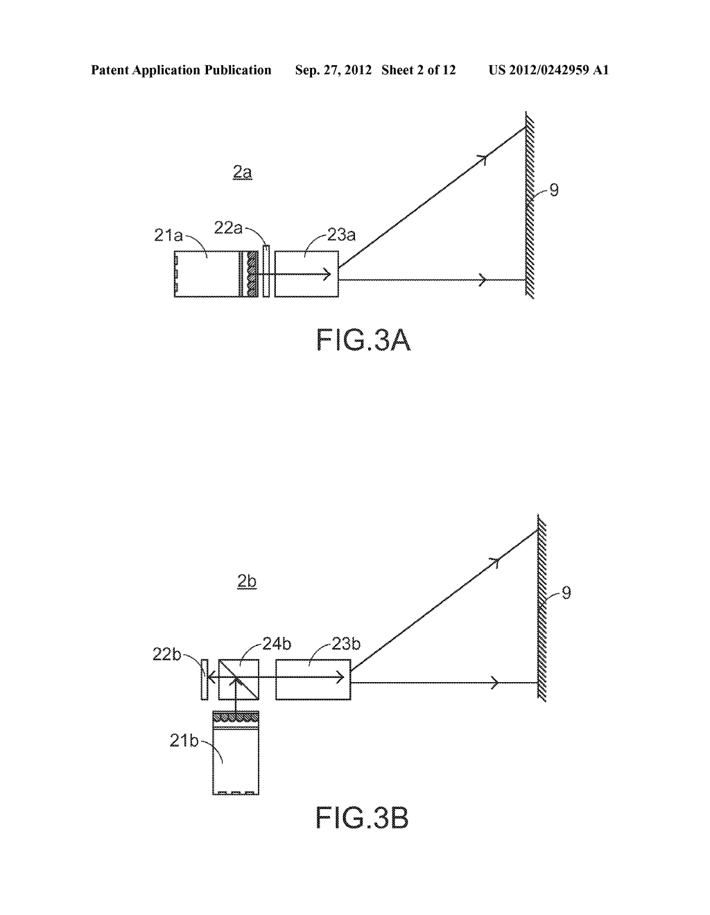 COLOR LIGHT MIXING METHOD, COLOR LIGHT MIXING DEVICE AND SMALL-SIZED     PROJECTING SYSTEM HAVING SUCH COLOR LIGHT MIXING DEVICE - diagram, schematic, and image 03