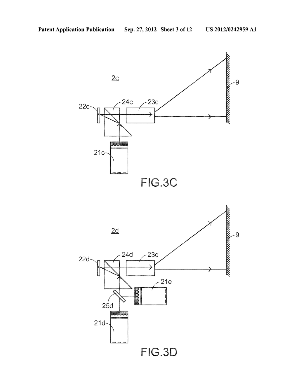 COLOR LIGHT MIXING METHOD, COLOR LIGHT MIXING DEVICE AND SMALL-SIZED     PROJECTING SYSTEM HAVING SUCH COLOR LIGHT MIXING DEVICE - diagram, schematic, and image 04