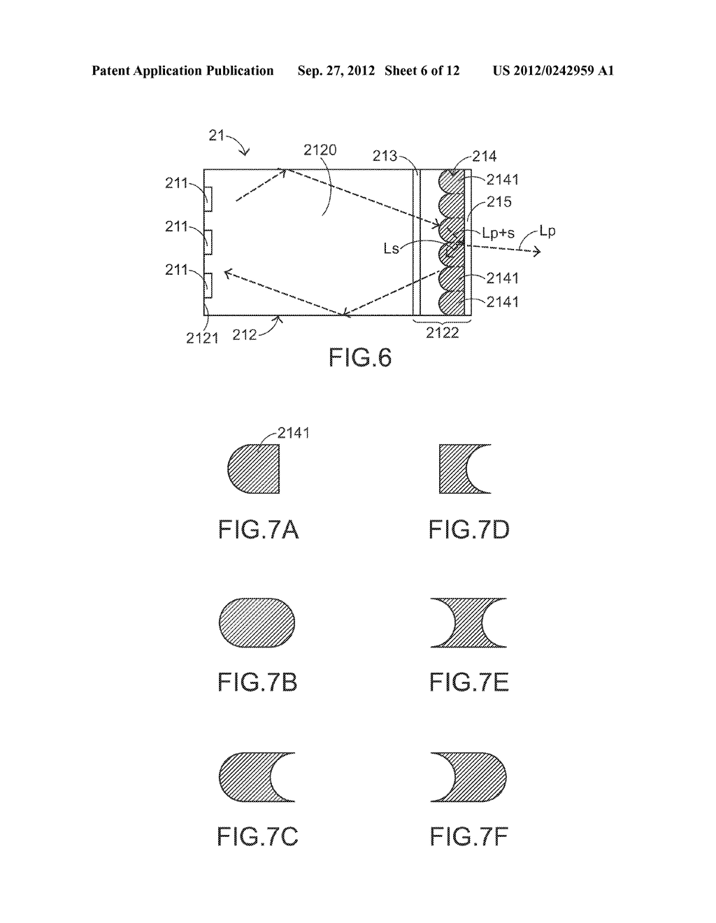 COLOR LIGHT MIXING METHOD, COLOR LIGHT MIXING DEVICE AND SMALL-SIZED     PROJECTING SYSTEM HAVING SUCH COLOR LIGHT MIXING DEVICE - diagram, schematic, and image 07