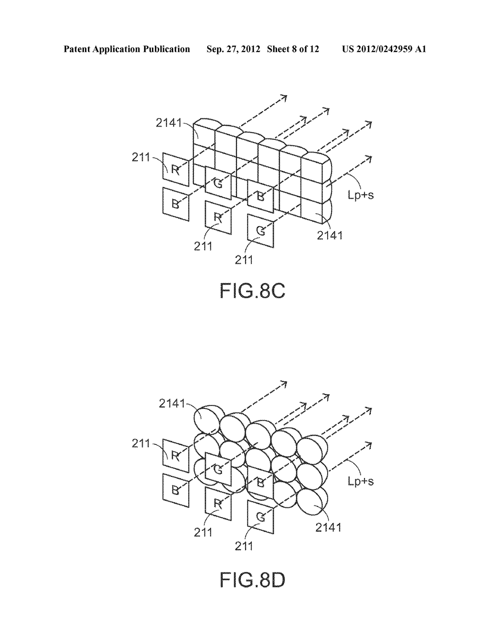 COLOR LIGHT MIXING METHOD, COLOR LIGHT MIXING DEVICE AND SMALL-SIZED     PROJECTING SYSTEM HAVING SUCH COLOR LIGHT MIXING DEVICE - diagram, schematic, and image 09