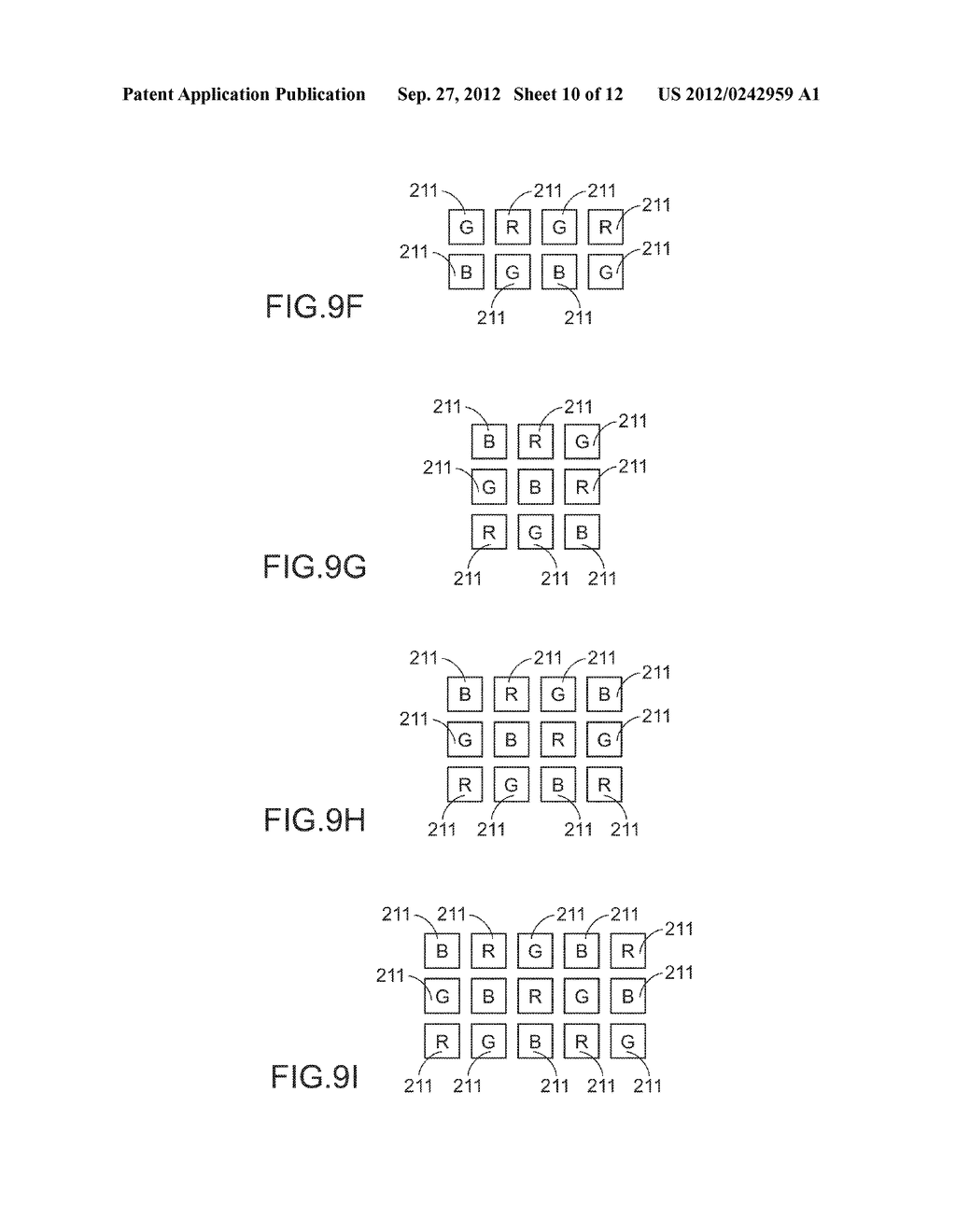 COLOR LIGHT MIXING METHOD, COLOR LIGHT MIXING DEVICE AND SMALL-SIZED     PROJECTING SYSTEM HAVING SUCH COLOR LIGHT MIXING DEVICE - diagram, schematic, and image 11