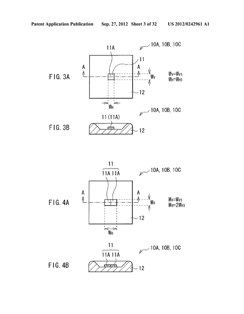 ILLUMINATION DEVICE, PROJECTION DISPLAY, AND DIRECT-VIEW DISPLAY - diagram, schematic, and image 04