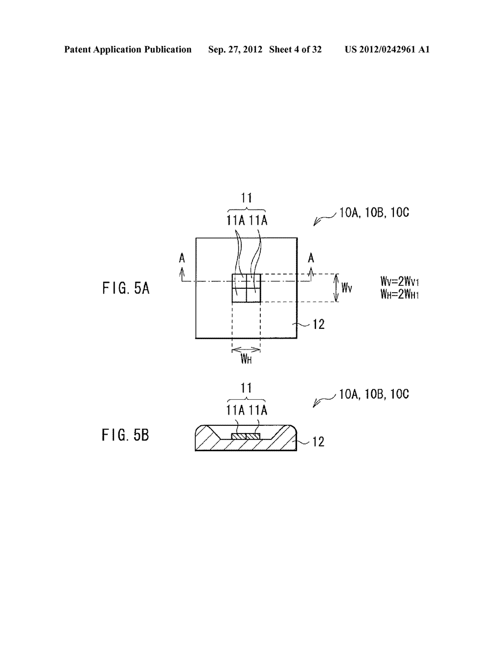 ILLUMINATION DEVICE, PROJECTION DISPLAY, AND DIRECT-VIEW DISPLAY - diagram, schematic, and image 05