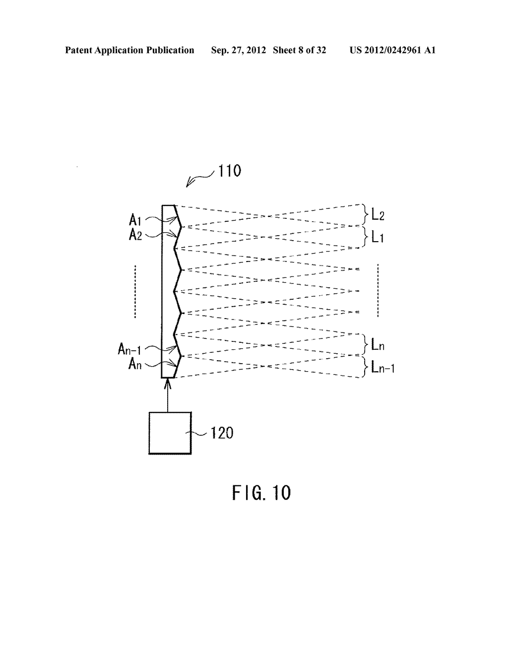 ILLUMINATION DEVICE, PROJECTION DISPLAY, AND DIRECT-VIEW DISPLAY - diagram, schematic, and image 09