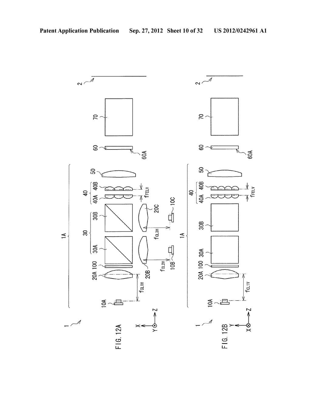 ILLUMINATION DEVICE, PROJECTION DISPLAY, AND DIRECT-VIEW DISPLAY - diagram, schematic, and image 11