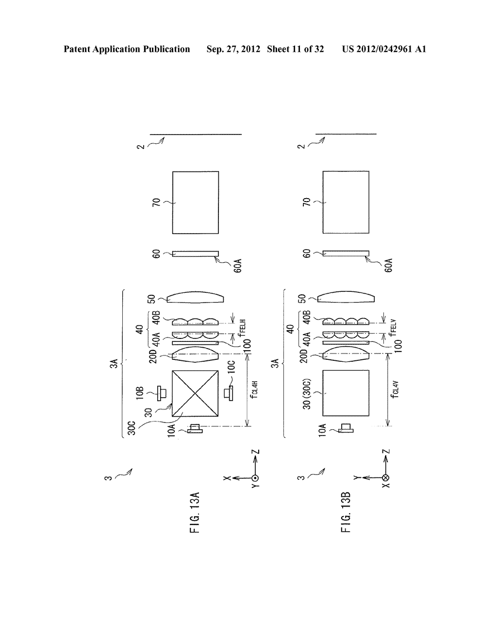 ILLUMINATION DEVICE, PROJECTION DISPLAY, AND DIRECT-VIEW DISPLAY - diagram, schematic, and image 12