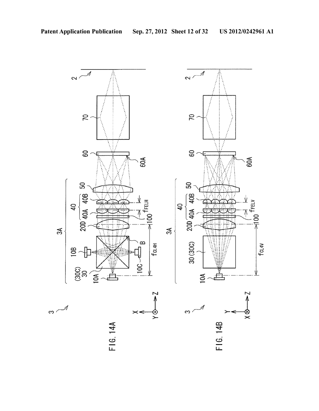 ILLUMINATION DEVICE, PROJECTION DISPLAY, AND DIRECT-VIEW DISPLAY - diagram, schematic, and image 13