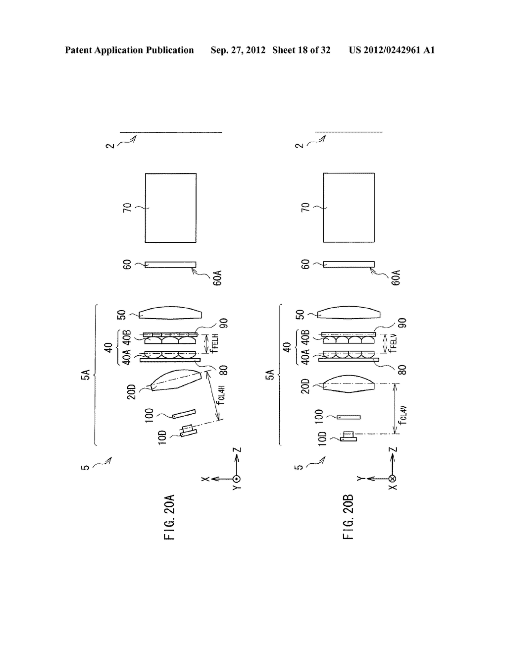 ILLUMINATION DEVICE, PROJECTION DISPLAY, AND DIRECT-VIEW DISPLAY - diagram, schematic, and image 19