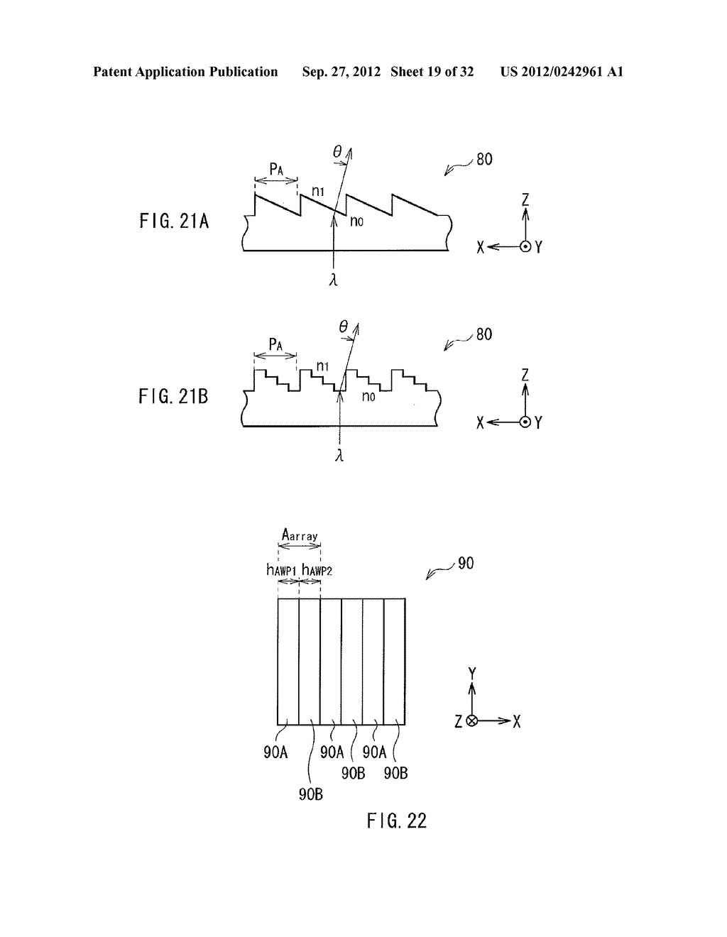 ILLUMINATION DEVICE, PROJECTION DISPLAY, AND DIRECT-VIEW DISPLAY - diagram, schematic, and image 20