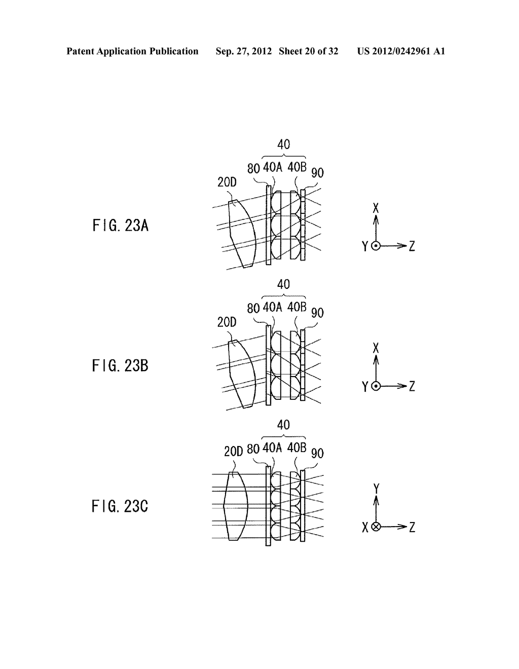 ILLUMINATION DEVICE, PROJECTION DISPLAY, AND DIRECT-VIEW DISPLAY - diagram, schematic, and image 21