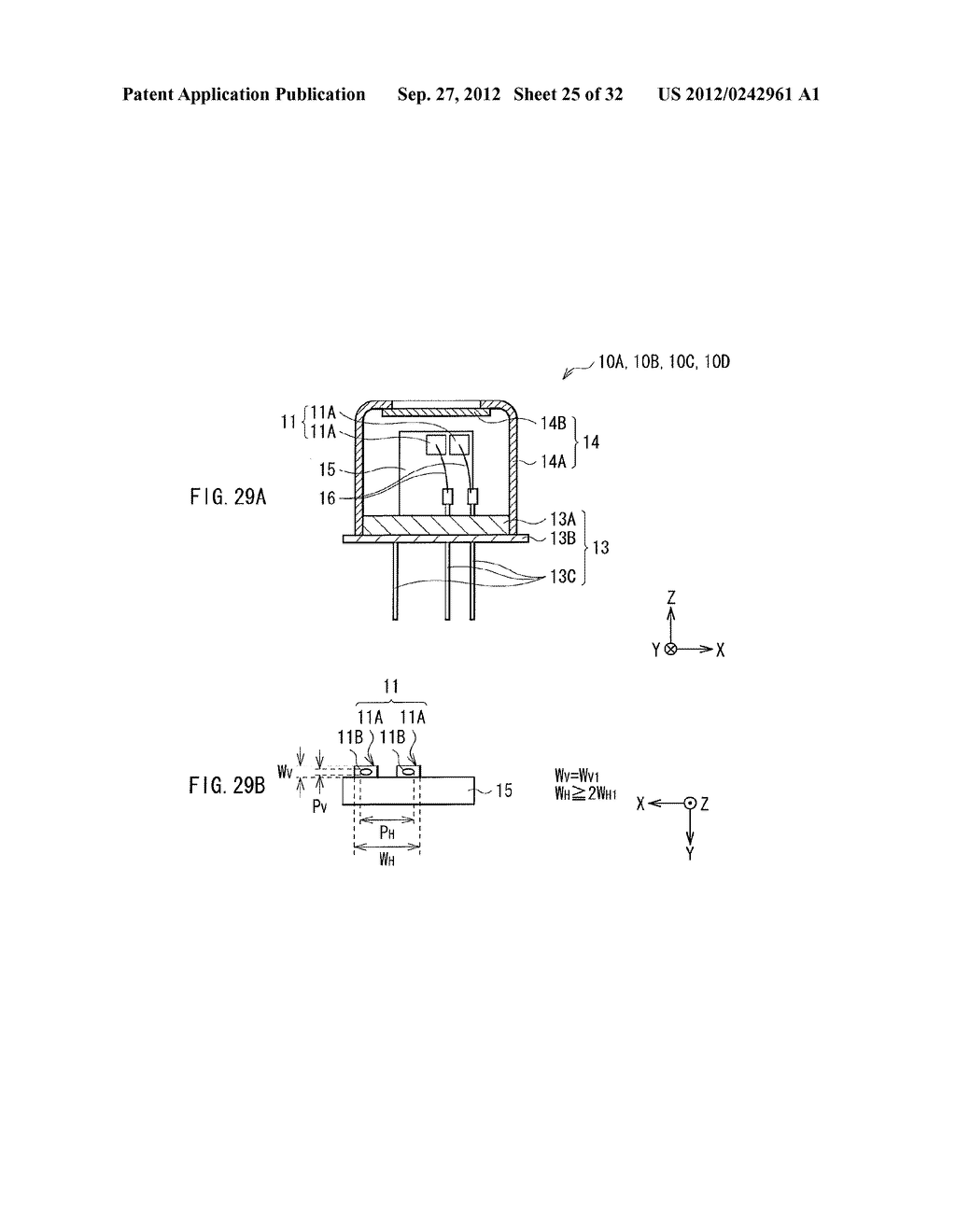 ILLUMINATION DEVICE, PROJECTION DISPLAY, AND DIRECT-VIEW DISPLAY - diagram, schematic, and image 26