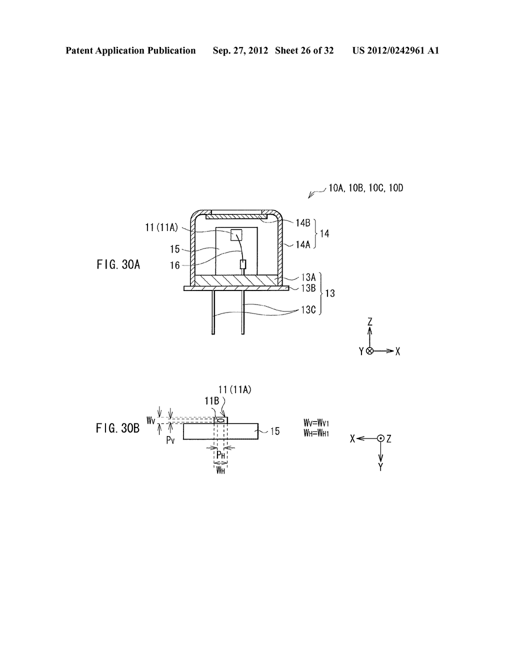 ILLUMINATION DEVICE, PROJECTION DISPLAY, AND DIRECT-VIEW DISPLAY - diagram, schematic, and image 27