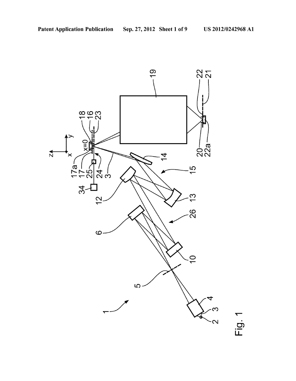 METHOD FOR ADJUSTING AN ILLUMINATION SYSTEM OF A PROJECTION EXPOSURE     APPARATUS FOR PROJECTION LITHOGRAPHY - diagram, schematic, and image 02
