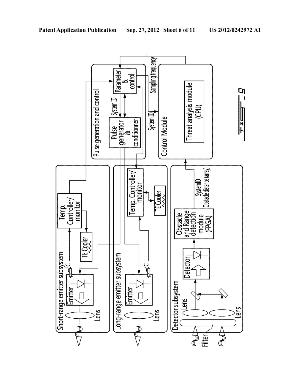 Vehicular Ranging System and Method of Operation - diagram, schematic, and image 07