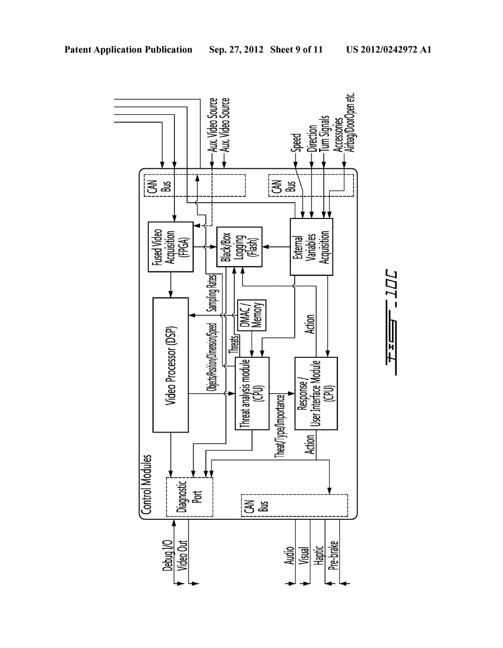 Vehicular Ranging System and Method of Operation - diagram, schematic, and image 10