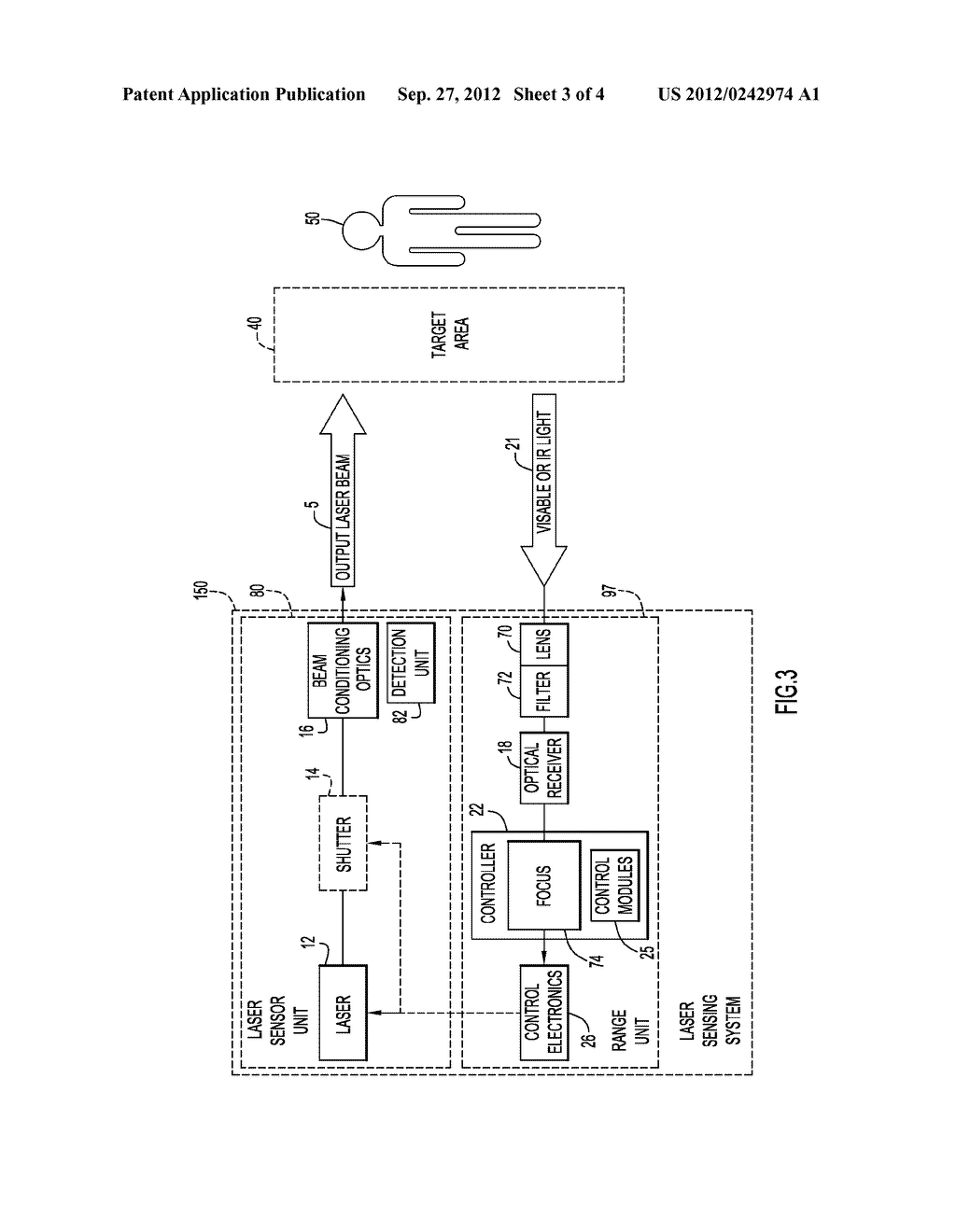 Method and Apparatus for Controlling Laser Transmissions for Enhanced     Safety - diagram, schematic, and image 04