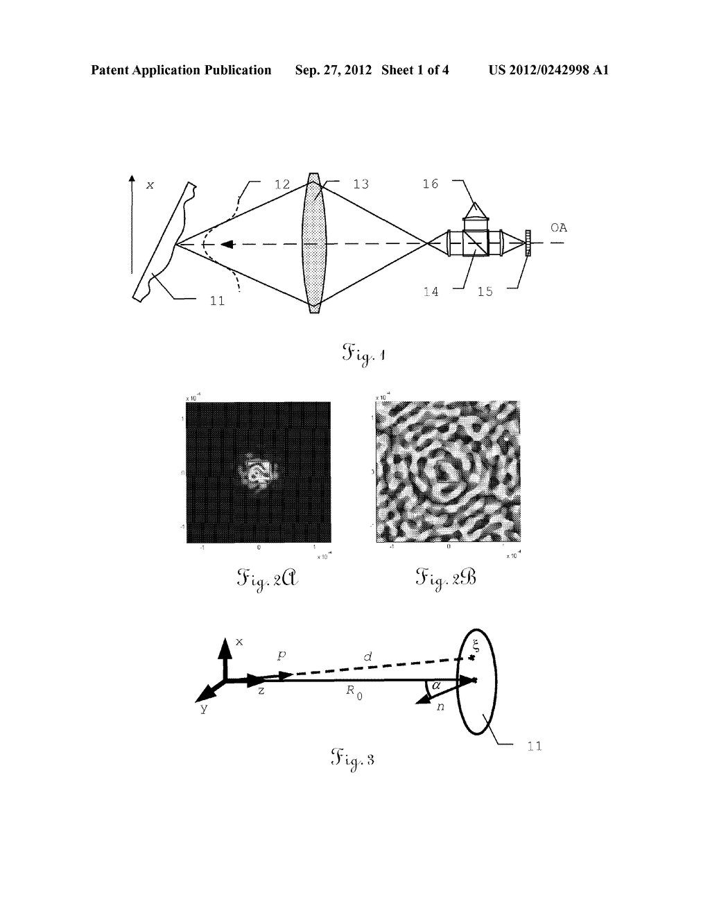 METHOD FOR SPECKLE MITIGATION IN AN INTERFEROMETRIC DISTANCE METER AND     CORRESPONDING DISTANCE METER - diagram, schematic, and image 02