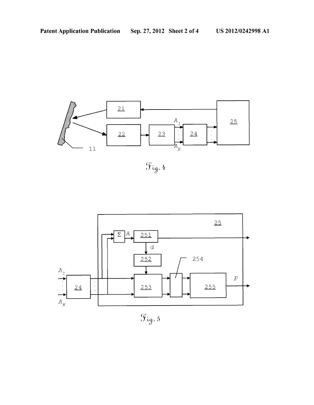 METHOD FOR SPECKLE MITIGATION IN AN INTERFEROMETRIC DISTANCE METER AND     CORRESPONDING DISTANCE METER - diagram, schematic, and image 03