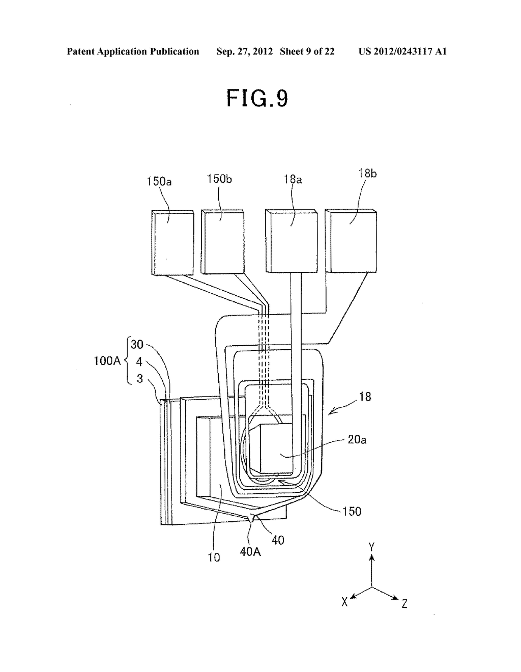 METHOD FOR MAGNETIC RECORDING USING MICROWAVE ASSISTED MAGNETIC HEAD - diagram, schematic, and image 10