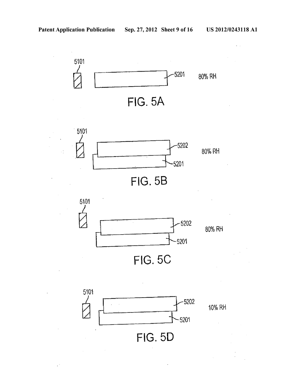 Methods, Systems and Apparatus for Reducing the Effects of Tape     Dimensional Stability - diagram, schematic, and image 10