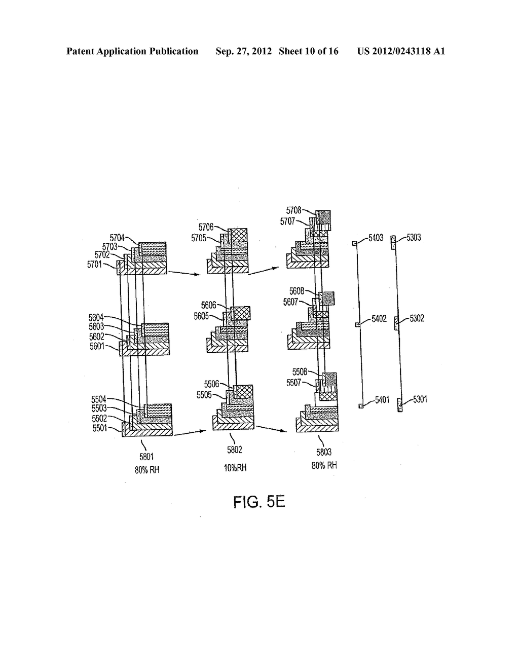 Methods, Systems and Apparatus for Reducing the Effects of Tape     Dimensional Stability - diagram, schematic, and image 11
