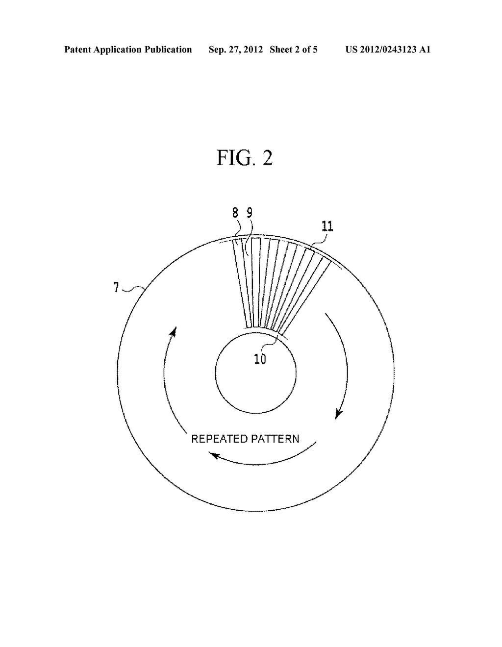 MAGNETIC DISK DEVICE, MAGNETIC DISK, AND MAGNETIC DISK MANUFACTURING     METHOD - diagram, schematic, and image 03