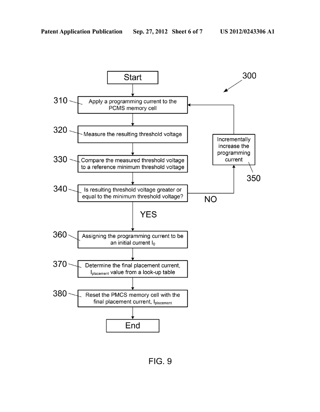 METHOD AND APPARATUS TO RESET A PHASE CHANGE MEMORY AND SWITCH (PCMS)     MEMORY CELL - diagram, schematic, and image 07