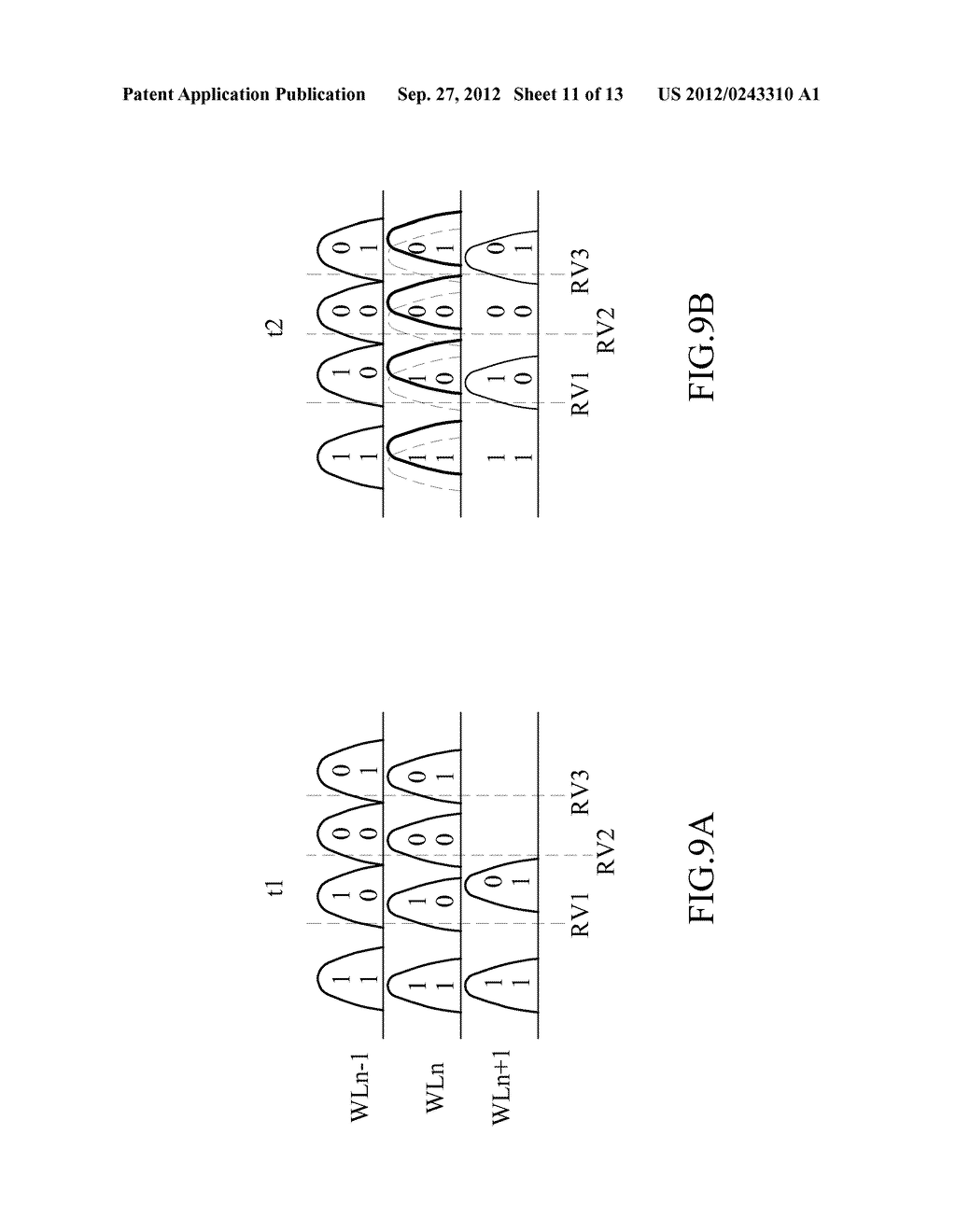 METHOD OF PROGRAMMING A MULTI-BIT PER CELL NON-VOLATILE MEMORY - diagram, schematic, and image 12
