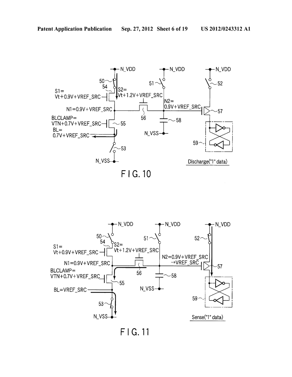 SEMICONDUCTOR MEMORY DEVICE COMPRISING MEMORY CELL HAVING CHARGE     ACCUMULATION LAYER AND CONTROL GATE AND METHOD OF ERASING DATA THEREOF - diagram, schematic, and image 07