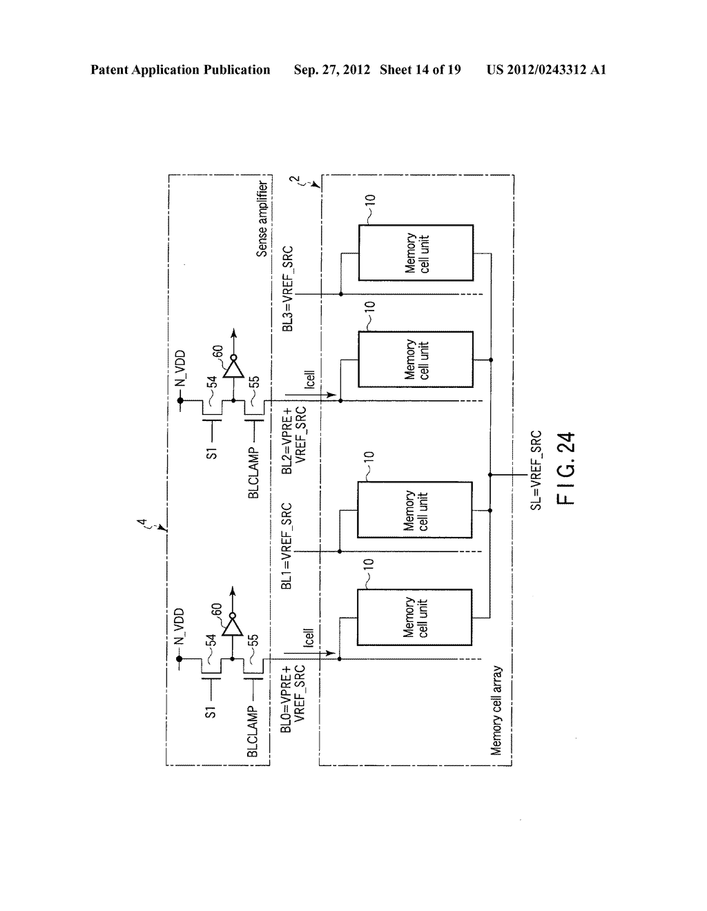 SEMICONDUCTOR MEMORY DEVICE COMPRISING MEMORY CELL HAVING CHARGE     ACCUMULATION LAYER AND CONTROL GATE AND METHOD OF ERASING DATA THEREOF - diagram, schematic, and image 15