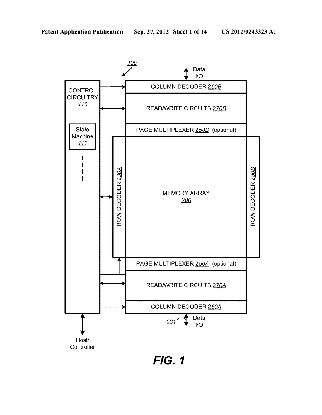 Nonvolatile Memory and Method for Improved Programming With Reduced Verify - diagram, schematic, and image 02