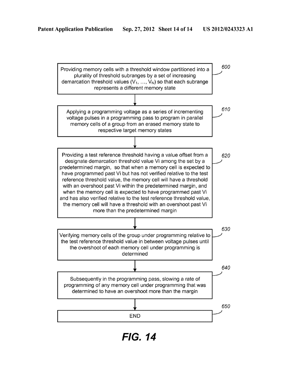 Nonvolatile Memory and Method for Improved Programming With Reduced Verify - diagram, schematic, and image 15