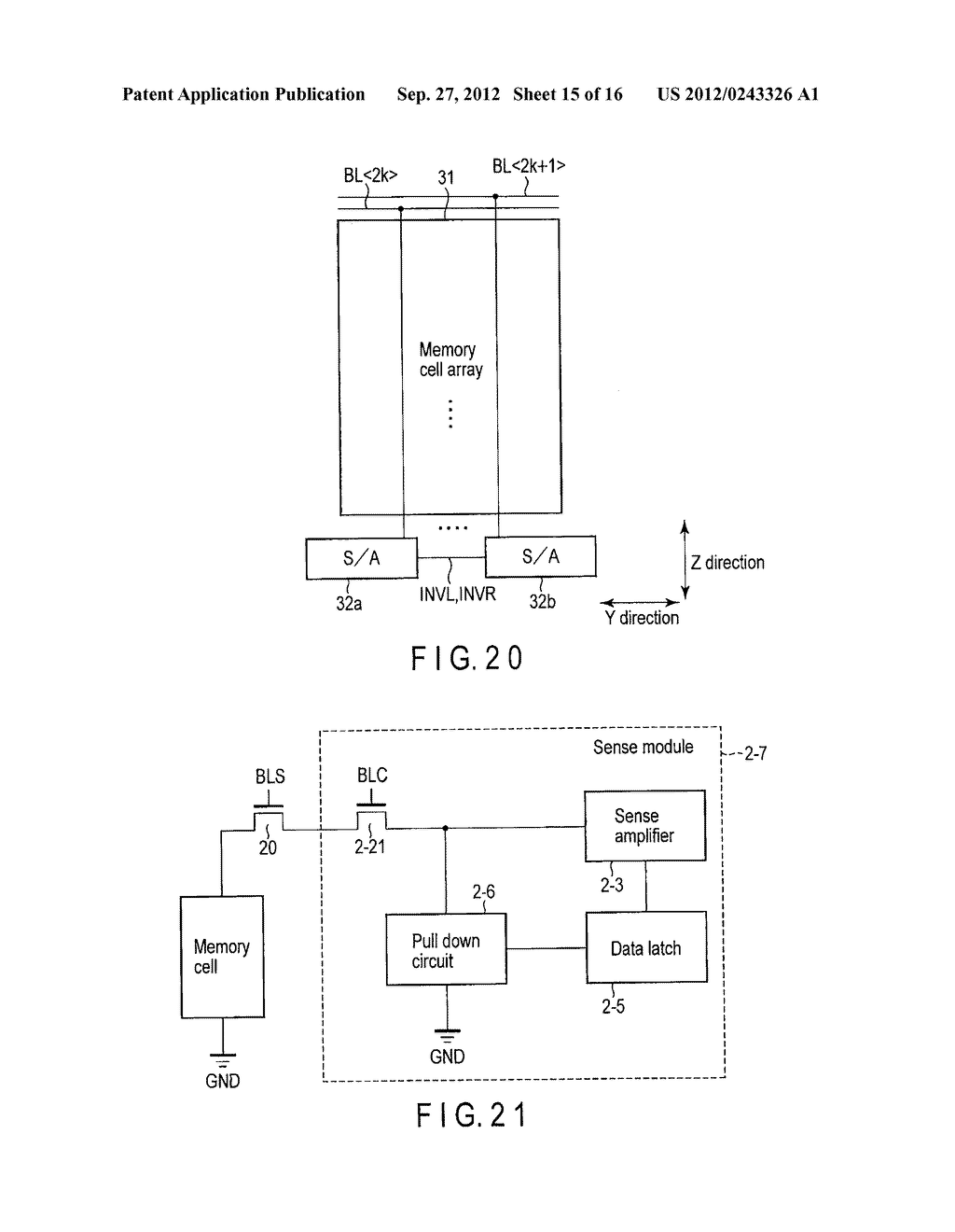 SEMICONDUCTOR STORAGE DEVICE - diagram, schematic, and image 16