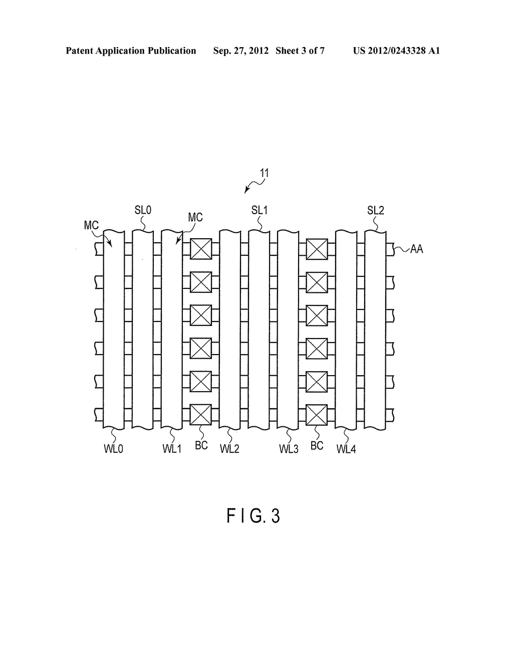 NONVOLATILE SEMICONDUCTOR MEMORY DEVICE AND DATA ERASE METHOD OF THE SAME - diagram, schematic, and image 04