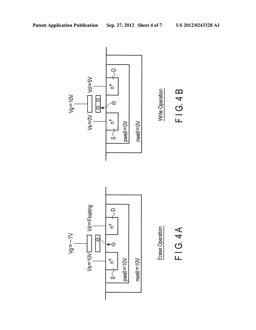 NONVOLATILE SEMICONDUCTOR MEMORY DEVICE AND DATA ERASE METHOD OF THE SAME - diagram, schematic, and image 05