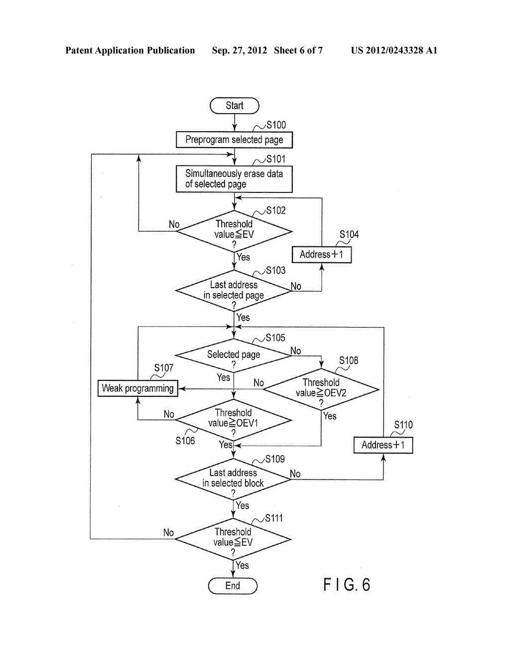 NONVOLATILE SEMICONDUCTOR MEMORY DEVICE AND DATA ERASE METHOD OF THE SAME - diagram, schematic, and image 07