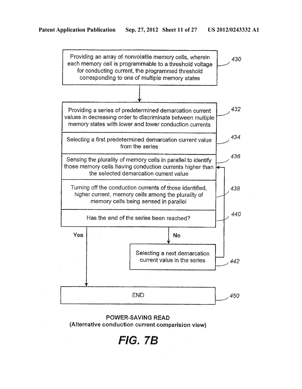 Non-Volatile Memory and Method with Power-Saving Read and Program-Verify     Operations - diagram, schematic, and image 12