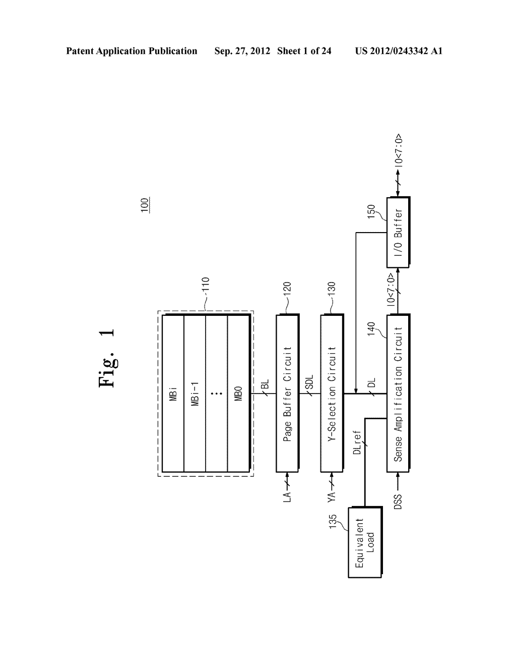 SENSE AMPLIFICATION CIRCUITS, OUTPUT CIRCUITS, NONVOLATILE MEMORY DEVICES,     MEMORY SYSTEMS, MEMORY CARDS HAVING THE SAME, AND DATA OUTPUTTING METHODS     THEREOF - diagram, schematic, and image 02