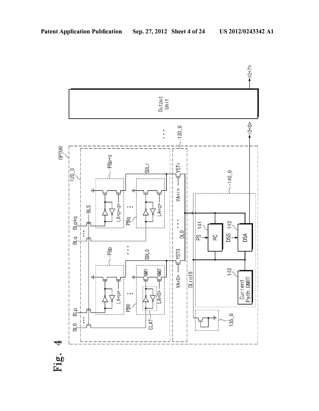 SENSE AMPLIFICATION CIRCUITS, OUTPUT CIRCUITS, NONVOLATILE MEMORY DEVICES,     MEMORY SYSTEMS, MEMORY CARDS HAVING THE SAME, AND DATA OUTPUTTING METHODS     THEREOF - diagram, schematic, and image 05