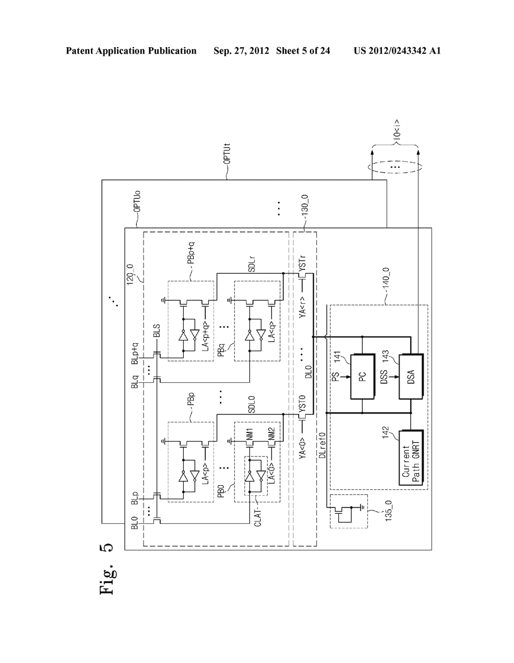 SENSE AMPLIFICATION CIRCUITS, OUTPUT CIRCUITS, NONVOLATILE MEMORY DEVICES,     MEMORY SYSTEMS, MEMORY CARDS HAVING THE SAME, AND DATA OUTPUTTING METHODS     THEREOF - diagram, schematic, and image 06