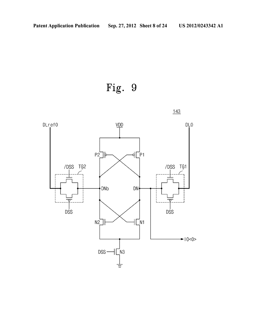 SENSE AMPLIFICATION CIRCUITS, OUTPUT CIRCUITS, NONVOLATILE MEMORY DEVICES,     MEMORY SYSTEMS, MEMORY CARDS HAVING THE SAME, AND DATA OUTPUTTING METHODS     THEREOF - diagram, schematic, and image 09